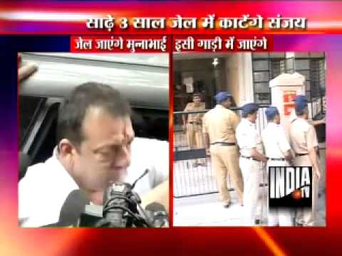 Sanjay Dutt surrenders, sent to jail, court rejects e-cigarette, gym demands