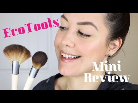 EcoTools Define & Highlight Brush Duo   First Impressions & Demo