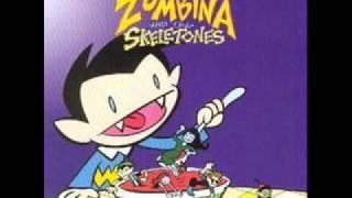 Watch Zombina  The Skeletones Leave My Brain Alone video
