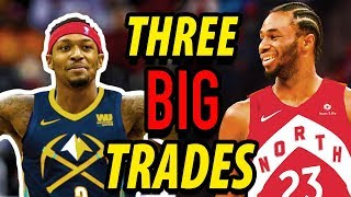 THREE BLOCKBUSTER TRADES That Should Happen This Year | 2019 NBA FREE AGENCY