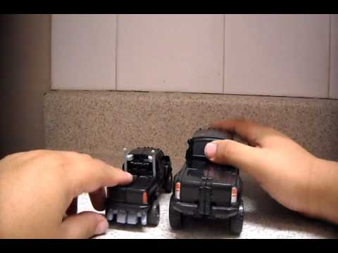Transformers HFTD Ironhide Review en Español