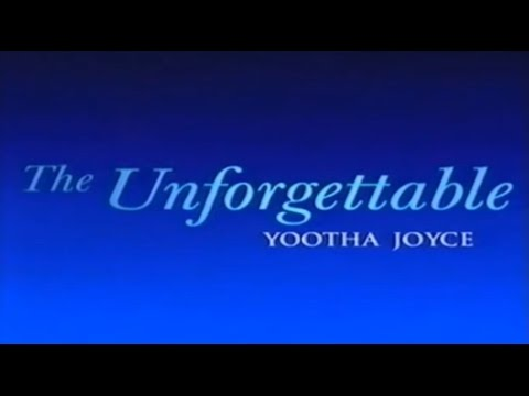 THE UNFORGETTABLE YOOTHA JOYCE (Documentary - 2001)