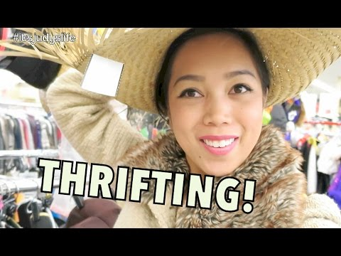 THRIFTING! - October 27, 2014 - itsJudysLife Daily Vlog