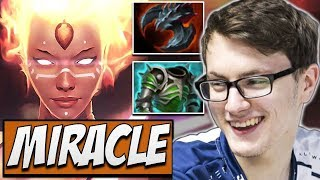 Liquid.Miracle Lina - CARRY BUILD Dota Gameplay