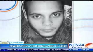 Revelan video del momento en que Esteban Santiago abre fuego contra los pasajeros en Fort Lauderdal