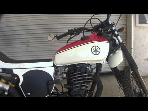 Custom Bare Bone Rides 1979 Yamaha XT500 Street Tracker Build (Fired-up and Running)