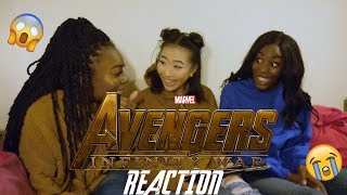 Avengers Infinity War Trailer 2 REACTION!!