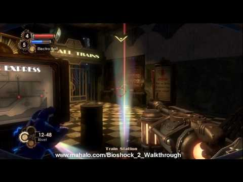 BioShock 2 Walkthrough - The Atlantic Express Part 2 HD
