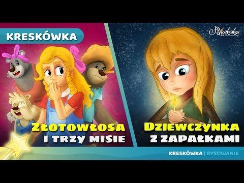 Złotowłosa I Trzy Misie Bajki Dla Dzieci Po Polsku | Animacja Kreskówka