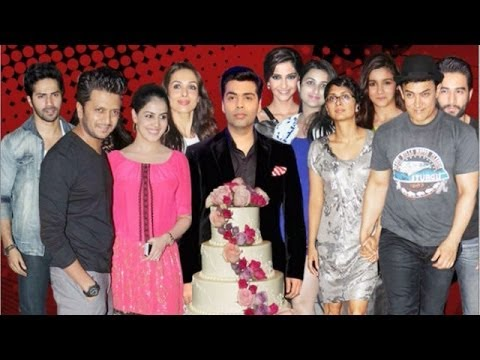 Shahrukh Khan, Aamir Khan, Alia Bhatt & others at Karan Johar's Birthday Bash