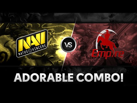 Adorable combo by Na`Vi vs Empire @ D2CL S4 Lan-Finals