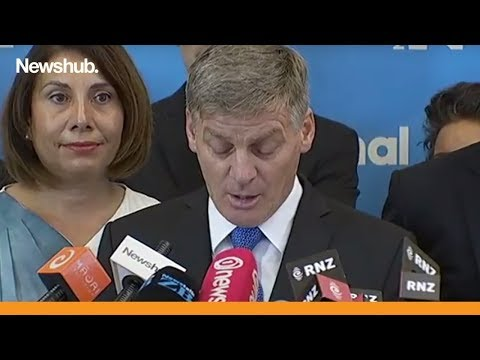Former New Zealand Prime Minister Bill English quits as National Party leader  Newshub