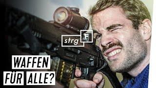 Waffenfreunde in Deutschland: wie ticken sie?   STRG_F