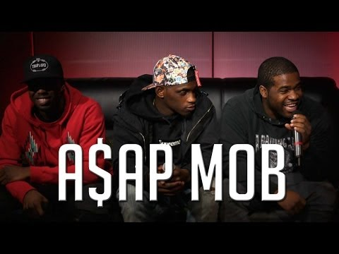 ASAP Ferg, ASAP Nast and ASAP Twelvyy sit down with Ebro and Peter Rosenberg. They talk about rumored beef, Trinidad James' comments on New York, women, the new single 'Trillmatic' featuring Method Ma