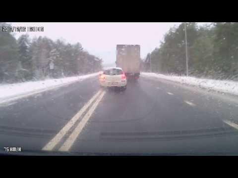 ДТП автодорога Минск-Гродно 06.12.2013