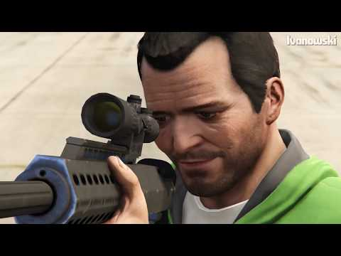GTA 5 - Can You Shoot Someone Through Water, Tire, TV,..etc? (#2)