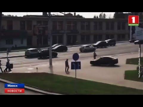 Погоня со стрельбой в Минске: несколько экипажей ГАИ преследовали Audi с российскими номерами