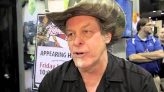 Ted Nugent almost sheds a tear talking about 'Ted Nugent Ammo'
