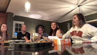 Tiffin Mukbang in HAUNTED HOUSE!? *WILD & SPOOKY*