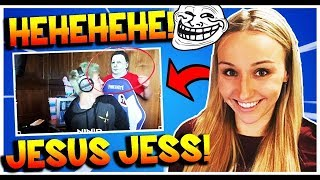 Ninja's Wife Jess Scares him with Michael Myers Halloween Mask Hilarious!! (Fortnite Battle Royale)