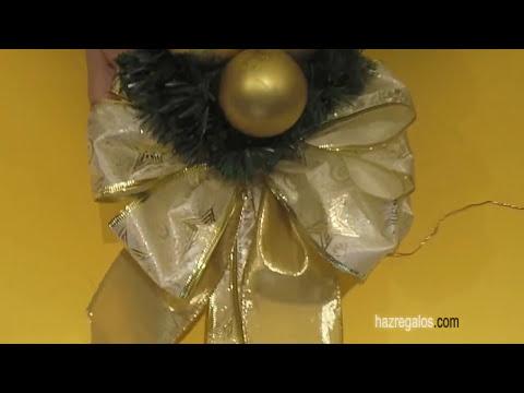 Adorno Navideño para la Puerta de Casa - DIY - Christmas Decoration to the Door