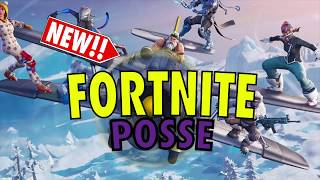 Fortnite Posse Plays & Best Moments Ep. 1
