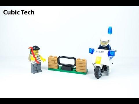 Lego City 60041 Crook Pursuit - Lego Speed Build