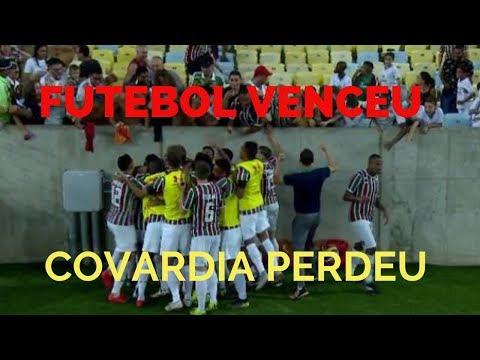 Vitória do Fluminense foi a vitória do futebol sobre um Flamengo covarde thumbnail