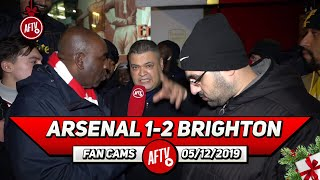 Arsenal 1-2 Brighton | We Are Not A Big Club Anymore! (Heavy D)