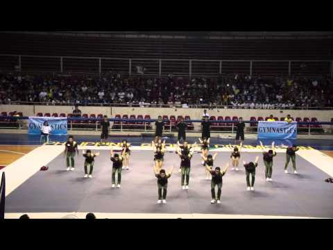 UP Pep Squad Cheer Mixed Philippine National Games 2013