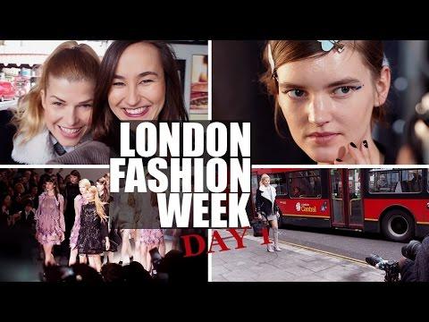 Vlog | London Fashion Week den 1.