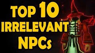 Top 10 Vanilla Npcs That Became Irrelevant in Cataclysm