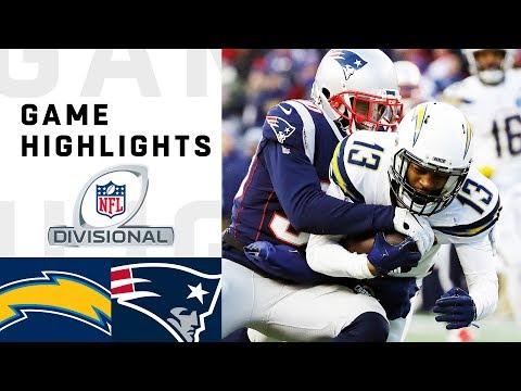Chargers vs Patriots Divisional Round Highlights  NFL 2018 Playoffs