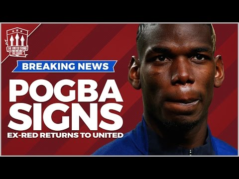POGBA DEAL DONE! Manchester United Transfer News