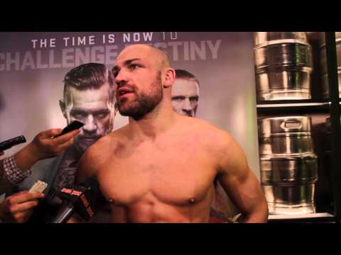 Post Fight Interview with Cathal Pendred following UFC Boston.