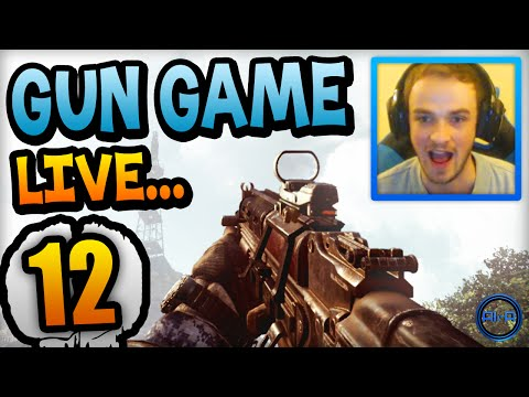 """SOO INTENSE!"" - Gun Game LIVE w/ Ali-A #12! - (Call of Duty: Ghost)"