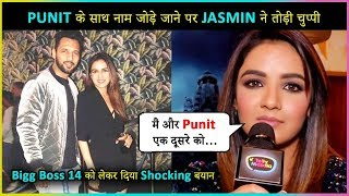 Jasmin Bhasin REACTS On Her Rumored Link - Up With Punit Pathak And On Her Entry In Bigg Boss