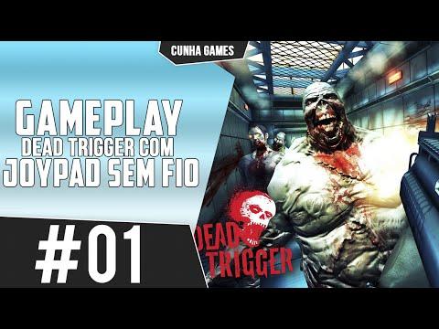 GAMEPLAY DEAD TRIGGER #01 -  JOYPAD SEM FIO PARA SMARTPHONE [6680]