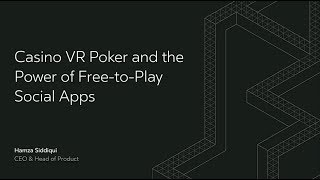 Oculus Connect 4 | Casino VR Poker and the Power of Free-to-Play Social Apps