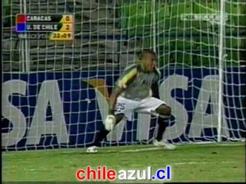 Caracas F.C 1 - 3 U de Chile         LA MAGIA AZUL