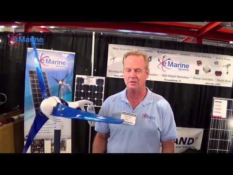 Oakland Strictly Sail Pacific 2015 Air X Wind Turbine - e Marine Systems