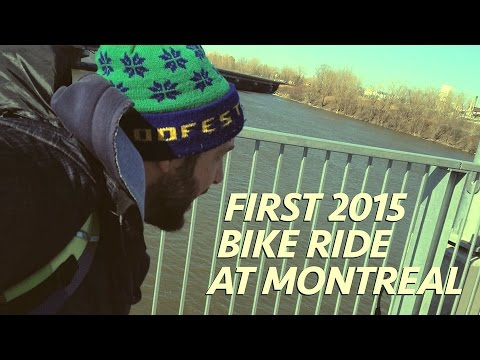 First 2015 Bike Ride at Montreal