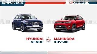Hyundai Venue vs Mahindra XUV300: Engine specs and dimensions compared | CAR NEWS 2019