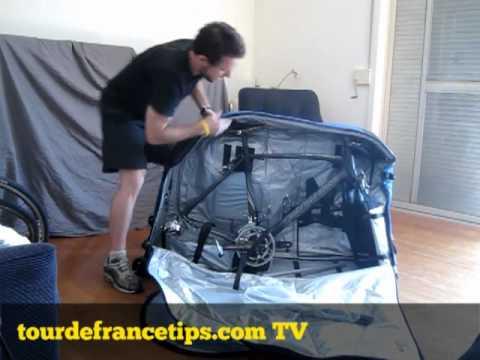 Bike Travel Bag >> How to Pack Your Bike in the EVOC Bike Bag - YouTube