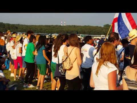 ŚDM Katowice 2016 - Muchowiec - Jezus Chrystus To Panów Pan