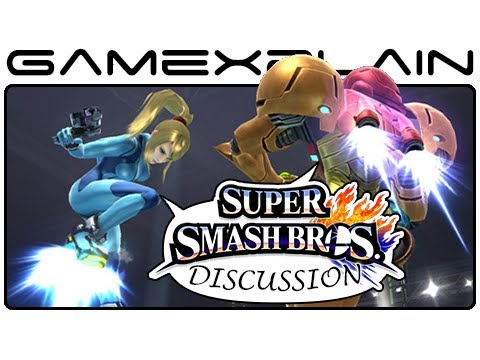 Super Smash Bros Update: Smash Run, Zero Suit Samus, & Metroid - Discussion (Wii U & 3DS)