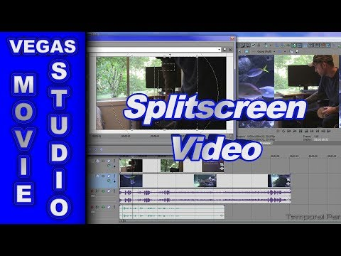 How to Create Split-Screen Video using Sony Vegas Movie Studio HD Platinum 11