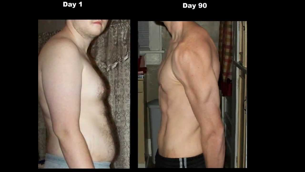 a P90x Result For David