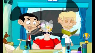 Mr Bean Cartoon Game Movie Trouble In Hair Salon Full English Episode