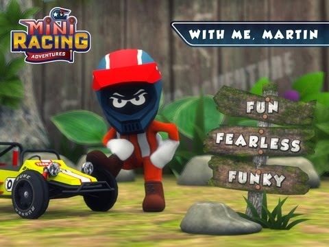 mini racing adventures android / ios gameplay trailer